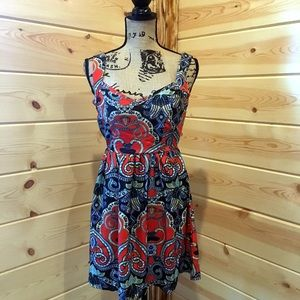 Colorful Boutique Dress Tie Back